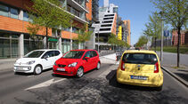 Seat Mii, Skoda Citigo, VW Up, Stadtflitzer