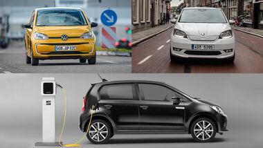 Seat Mii VW Up Skoda Citigo Elektro