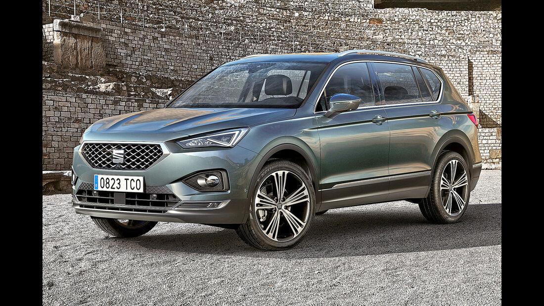 Seat Tarraco, Best Cars 2020, Kategorie K Große SUV/Geländewagen