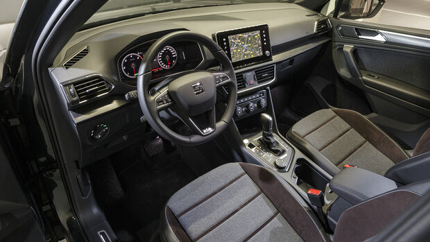 Seat Tarraco, Interieur