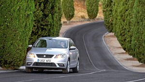 Seat Toledo 1.6 TDI Ecomotive, Frontansicht