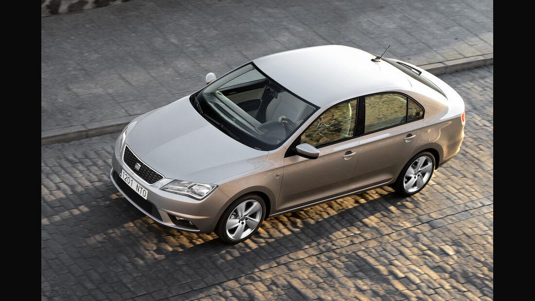 Seat Toledo 1.6 TDI Ecomotive, von oben