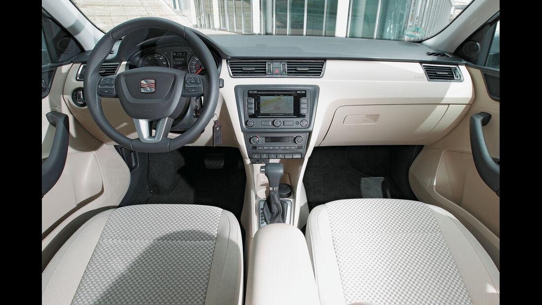 Seat Toledo, Cockpit