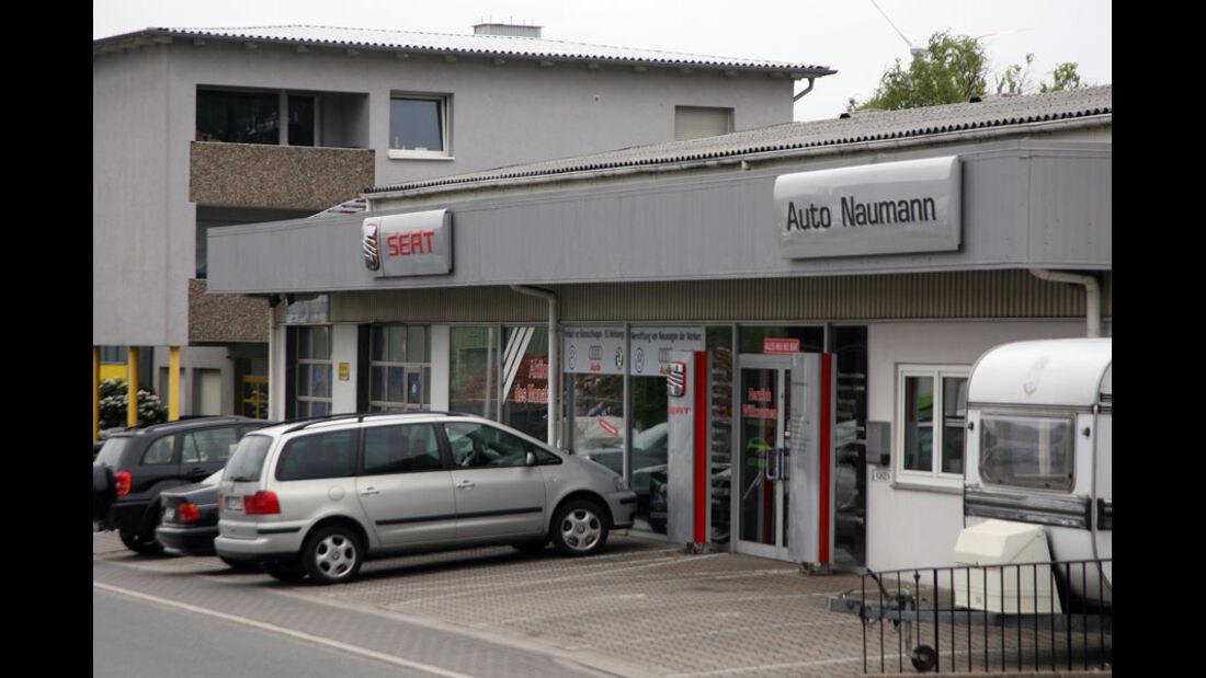 Seat Werkstatt, Auto Naumann