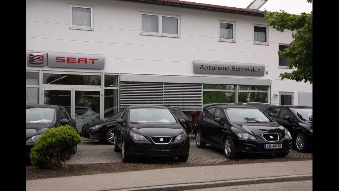 Seat Werkstatt, Autohaus Schneider