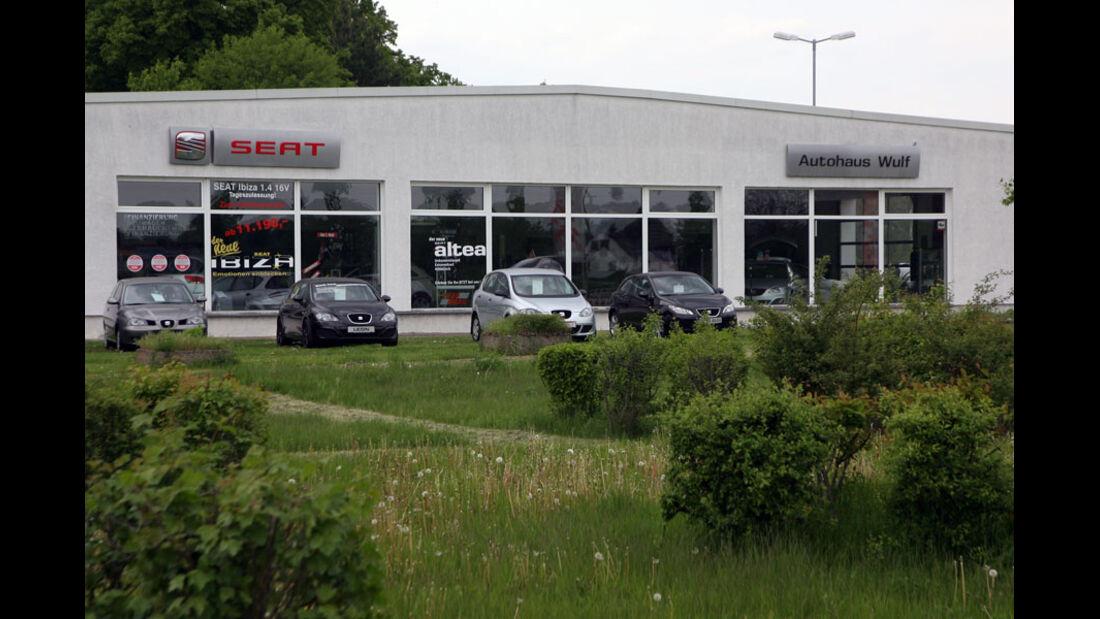 Seat Werkstatt, Autohaus Wulf