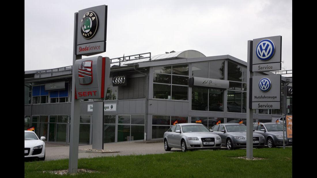 Seat Werkstatt, Automobilgruppe Dingolfing