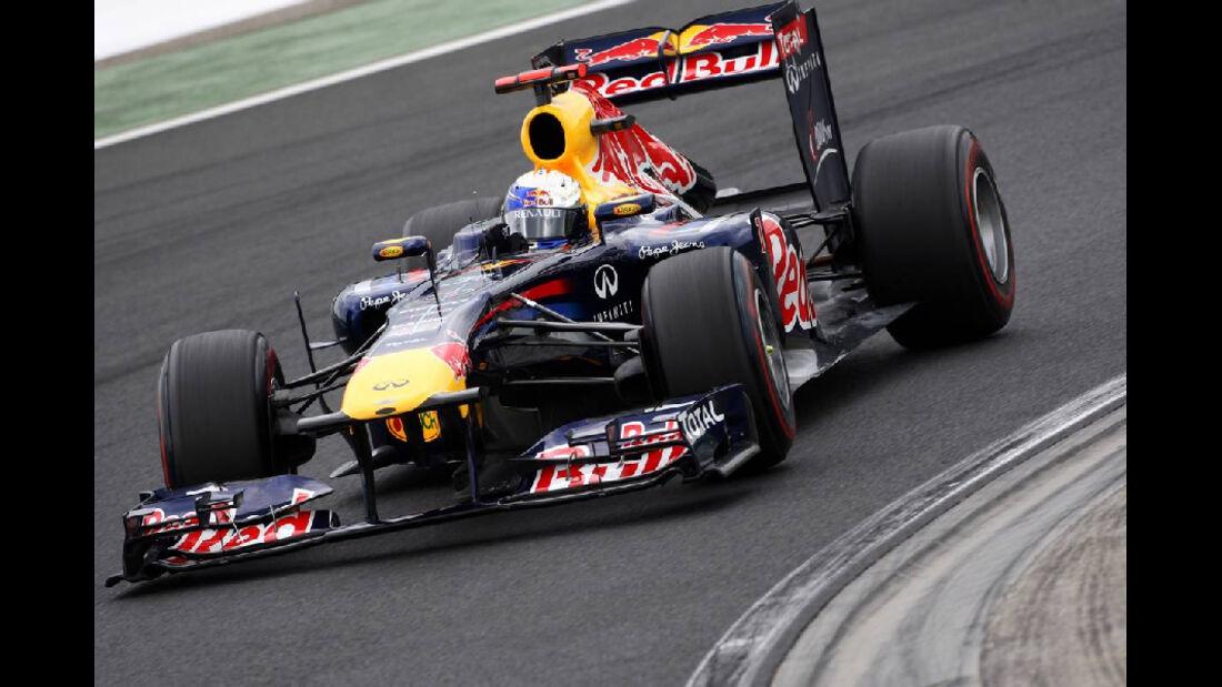 Sebastian Vetel - GP Ungarn - Formel 1 - 30.7.2011