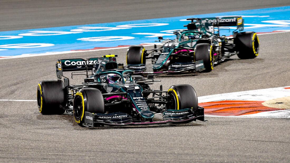Sebastian Vettel - Aston Martin - Formel 1 - GP Bahrain 2021 - Rennen