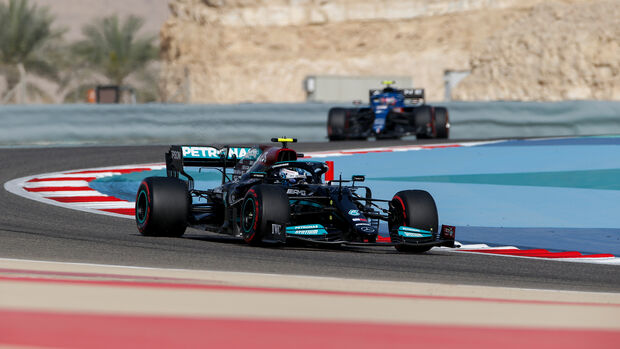 Sebastian Vettel - Aston Martin - Formel 1 - GP Bahrain - Freitag - 26.3.2021