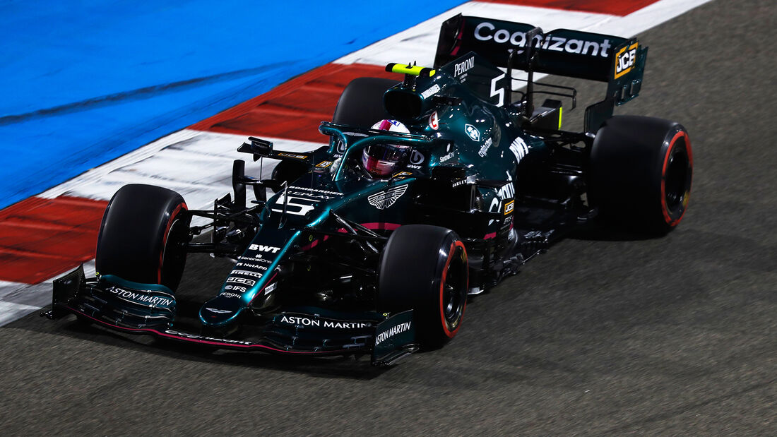 Sebastian Vettel - Aston Martin - Formel 1 - GP Bahrain - Qualifying - Samstag - 27.3.2021