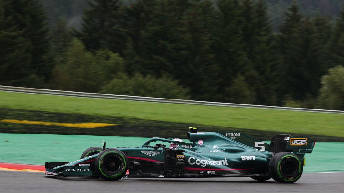 Sebastian Vettel - Aston Martin - Formel 1 - GP Belgien - 28. August 2021