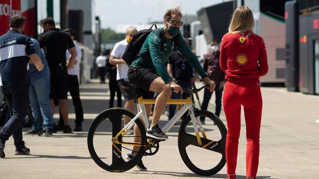 Sebastian Vettel - Aston Martin - Formel 1 - GP England 2021
