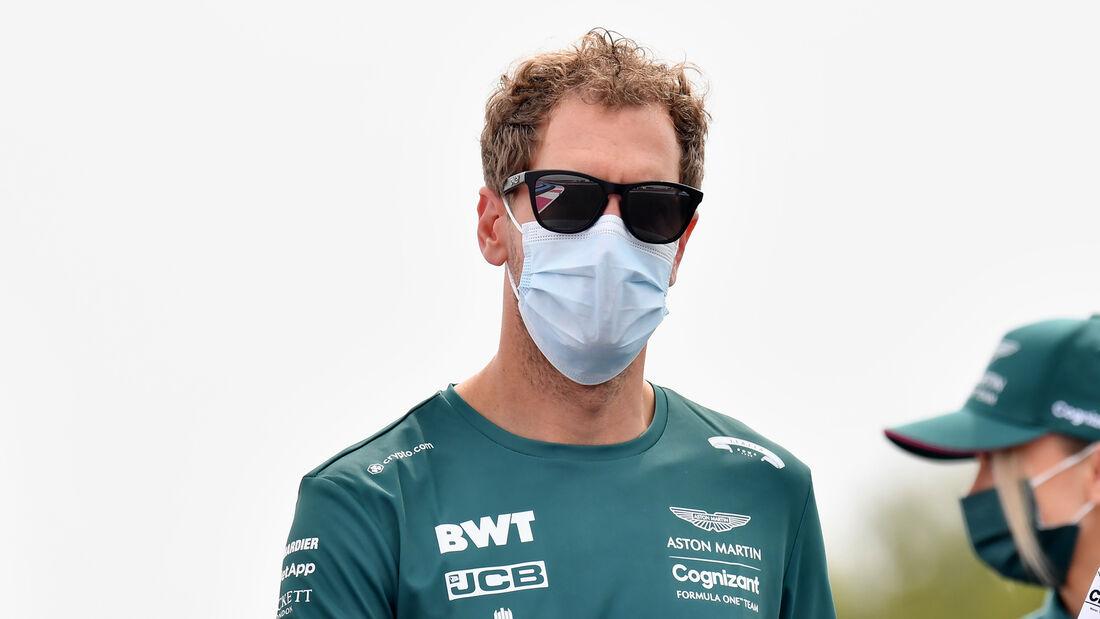 Sebastian Vettel - Aston Martin - Formel 1 - GP Frankreich - 17. Juni 2021
