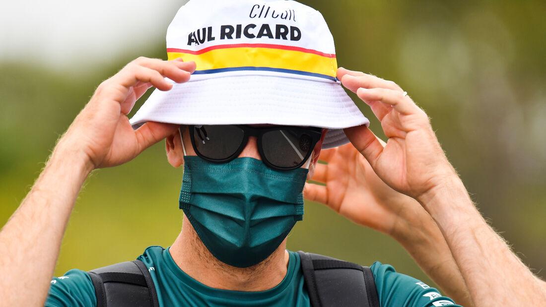 Sebastian Vettel - Aston Martin - Formel 1 - GP Frankreich 2021