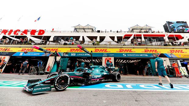 Sebastian Vettel - Aston Martin - Formel 1 - GP Frankreich - Le Castellet - 19. Juni 2021