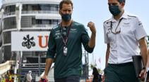 Sebastian Vettel - Aston Martin - Formel 1 - GP Monaco - 19. Mai 2021