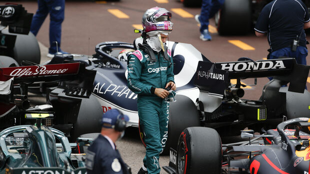 Sebastian Vettel - Aston Martin - Formel 1 - GP Monaco - 22. Mai 2021