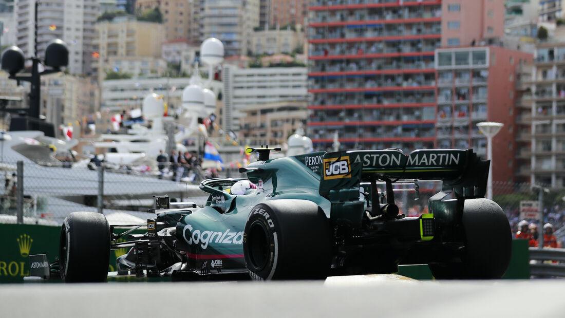 Sebastian Vettel - Aston Martin - Formel 1 - GP Monaco - 23. Mai 2021