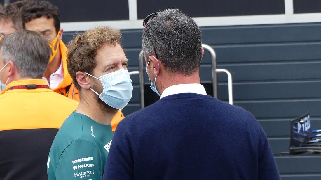 Sebastian Vettel - Aston Martin - Formel 1 - GP Niederlande - Zandvoort - 2. September 2021