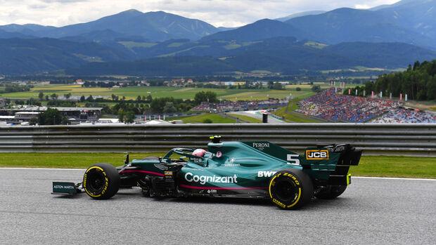 Sebastian Vettel - Aston Martin - Formel 1 - GP Österreich - Spielberg - Freitag - 2.7.2021