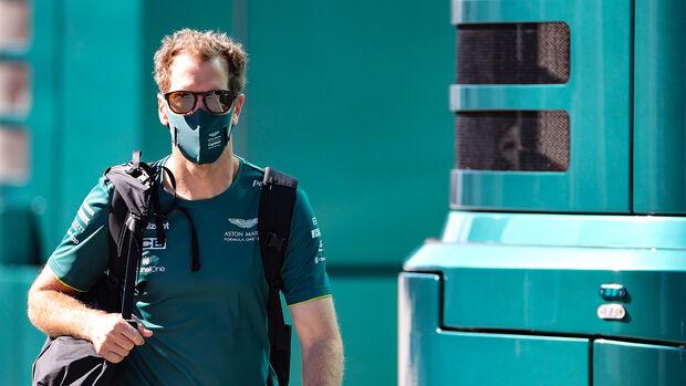 Sebastian Vettel - Aston Martin - Formel 1 - GP Portugal - Portimao - 30. April 2021