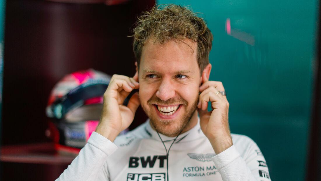 Sebastian Vettel - Aston Martin - Formel 1 - GP Russland - Sotschi - 24. September 2021