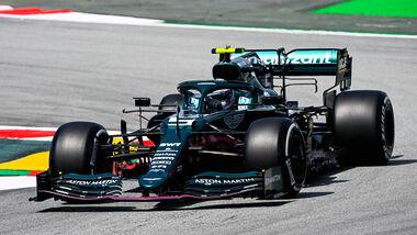 Sebastian Vettel - Aston Martin - Formel 1 - GP Spanien - 7. Mai 2020