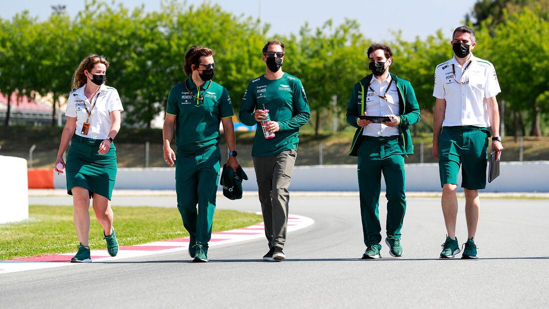 Sebastian Vettel - Aston Martin - Formel 1 - GP Spanien - Donnerstag - 6.5.2021