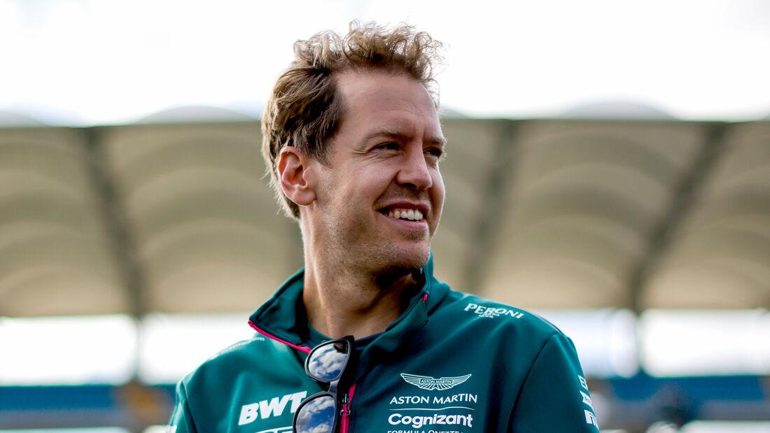Sebastian Vettel - Aston Martin - Formel 1 - GP Türkei - Istanbul - 7. Oktober 2021