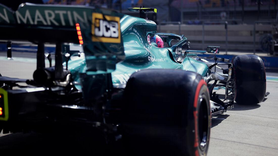 Sebastian Vettel - Aston Martin - Formel 1 - GP Türkei - Istanbul - 8. Oktober 2021