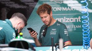 Sebastian Vettel - Aston Martin - Formel 1 - GP USA - Austin - Donnerstag - 21.10.2021