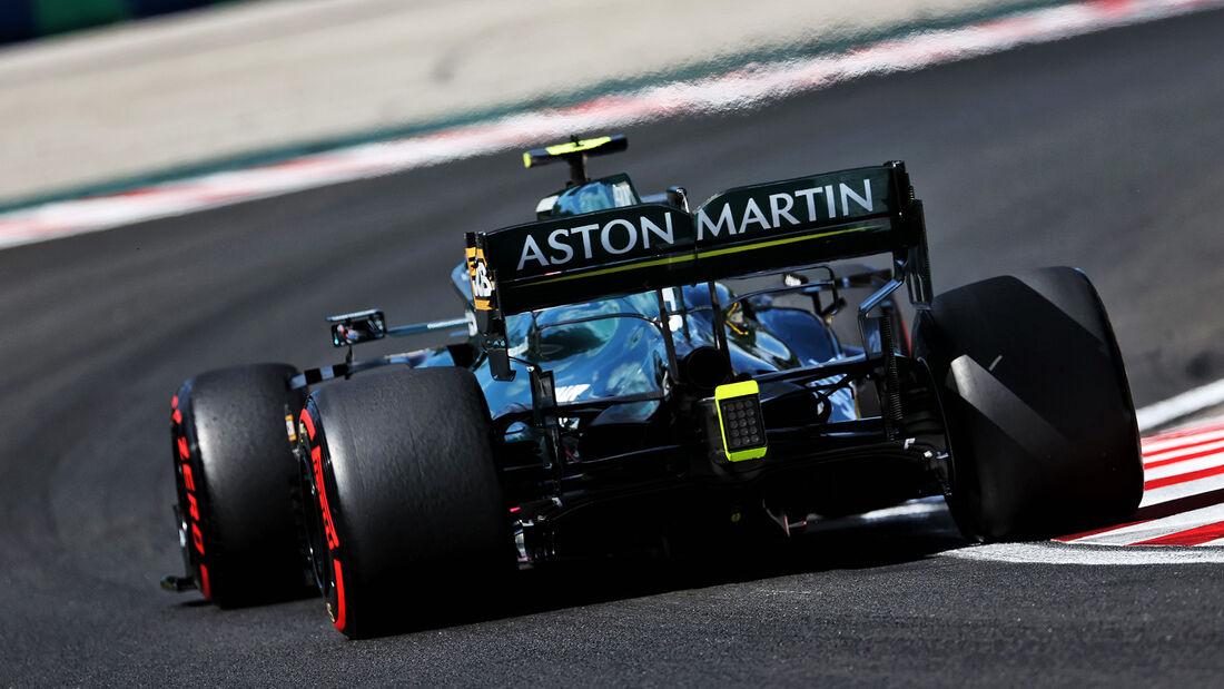 Sebastian Vettel - Aston Martin - Formel 1 - GP Ungarn - Budapest - Samstag - 31. Juli 2021