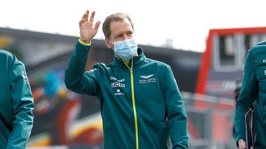 Sebastian Vettel - Aston Martin - Formel 1 - Imola - GP Emilia-Romagna - 15. April 2021