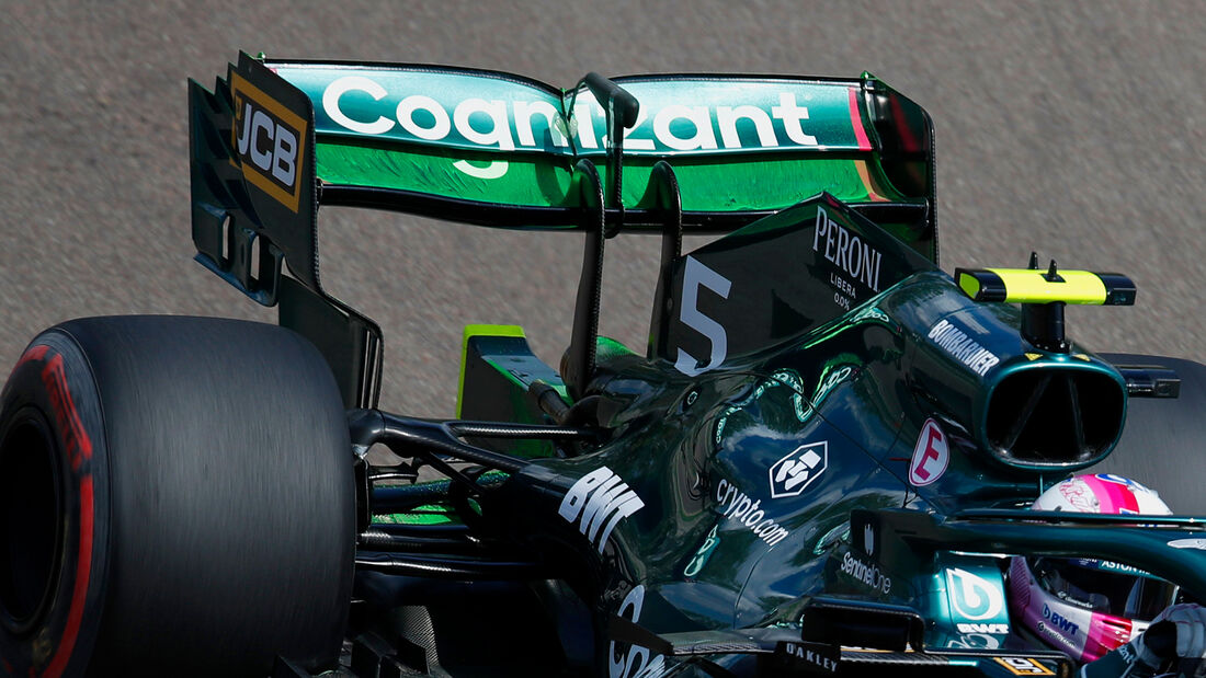 Sebastian Vettel - Aston Martin - Formel 1 - Imola - GP Emilia-Romagna - 16. April 2021