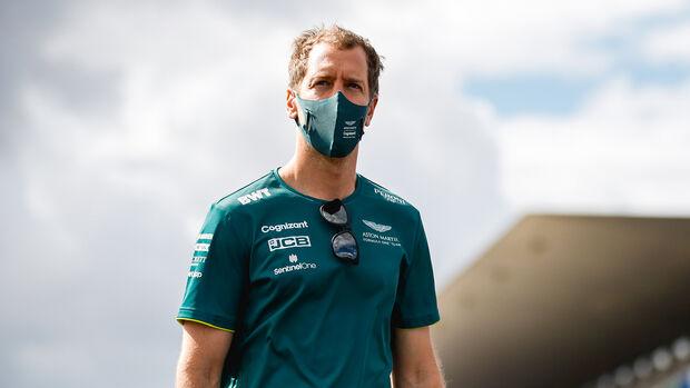 Sebastian Vettel - Aston Martin - Formel 1 - Portimao - GP Portugal - 29. April 2021