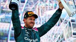 Sebastian Vettel - Aston Martin - GP Aserbaidschan 2021 - Baku