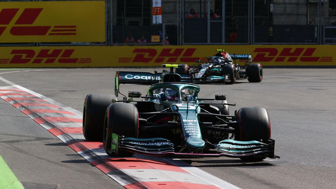 Sebastian Vettel - Aston Martin - GP Aserbaidschan 2021 - Baku - Rennen