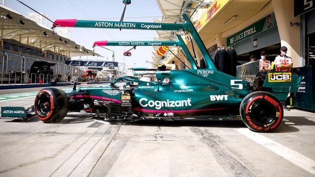Sebastian Vettel - Aston Martin - GP Bahrain - 2021