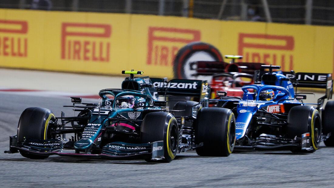 Sebastian Vettel - Aston Martin - GP Bahrain 2021 - Rennen