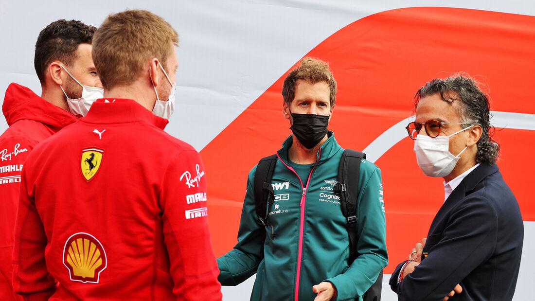 Sebastian Vettel - Aston Martin - GP Belgien - Spa-Francorchamps - 26. August 2021