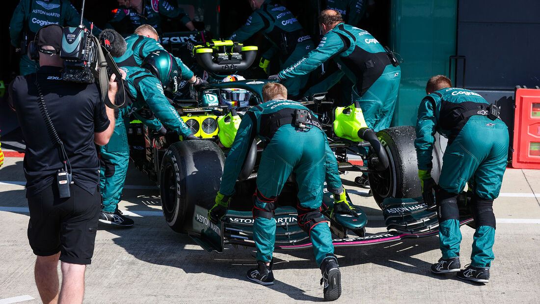 Sebastian Vettel - Aston Martin - GP England 2021 - Silverstone