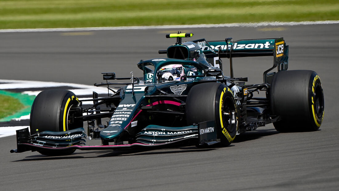 Sebastian Vettel - Aston Martin - GP England - Silverstone  - Formel 1 - 16. Juli 2021