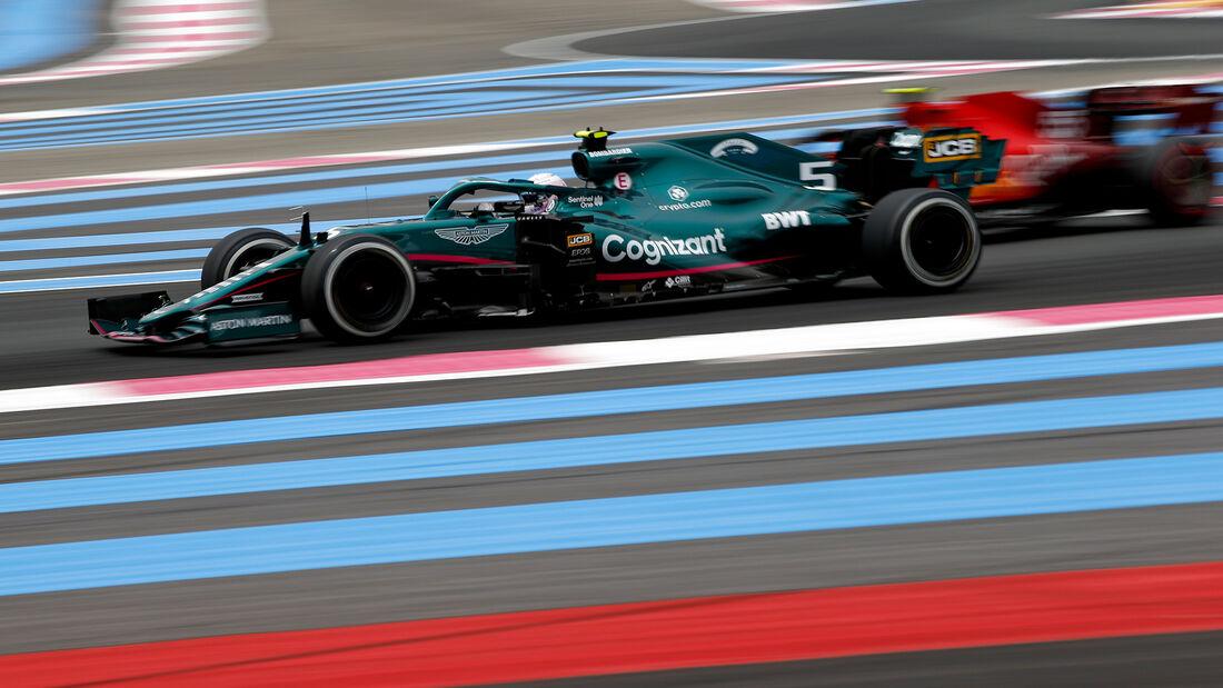 Sebastian Vettel - Aston Martin - GP Frankreich 2021 - Paul Ricard