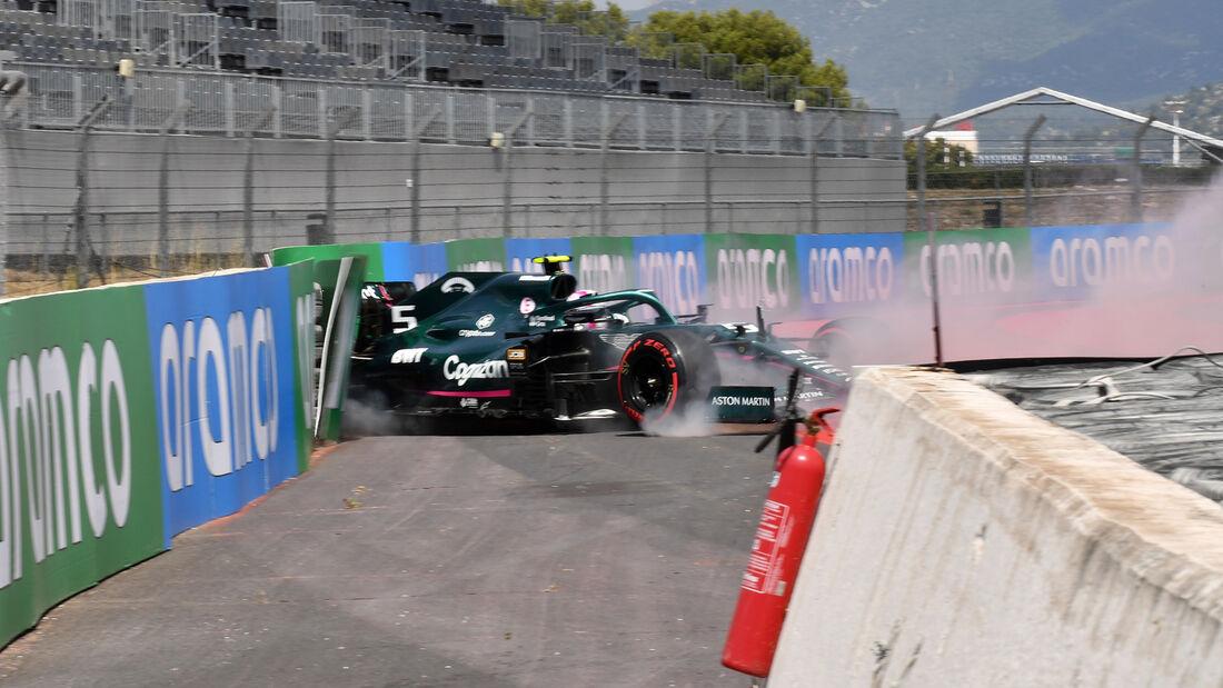 Sebastian Vettel - Aston Martin - GP Frankreich - Le Castellet - Paul Ricard Circuit - 18. Juni 2021
