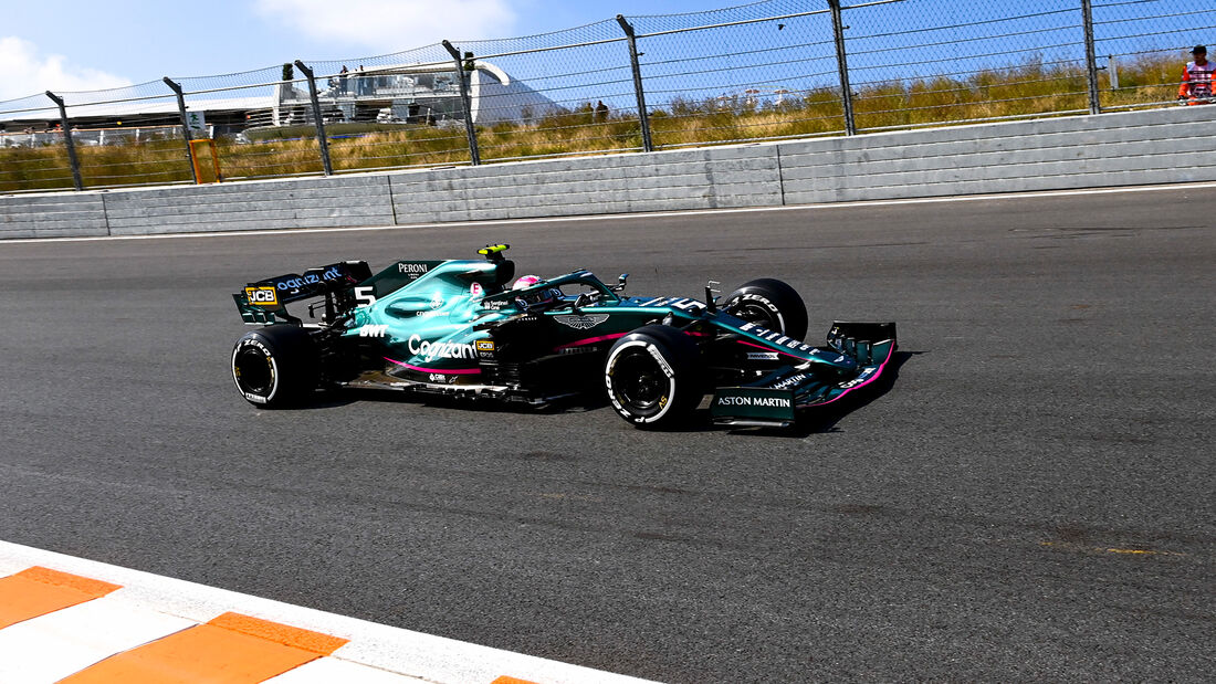 Sebastian Vettel - Aston Martin - GP Niederlande - Zandvoort - Formel 1 - 3. September 2021