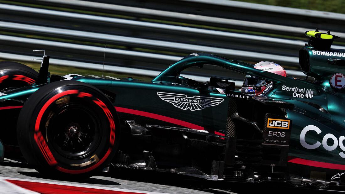 Sebastian Vettel - Aston Martin - GP Österreich 2021 - Spielberg - Qualifikation