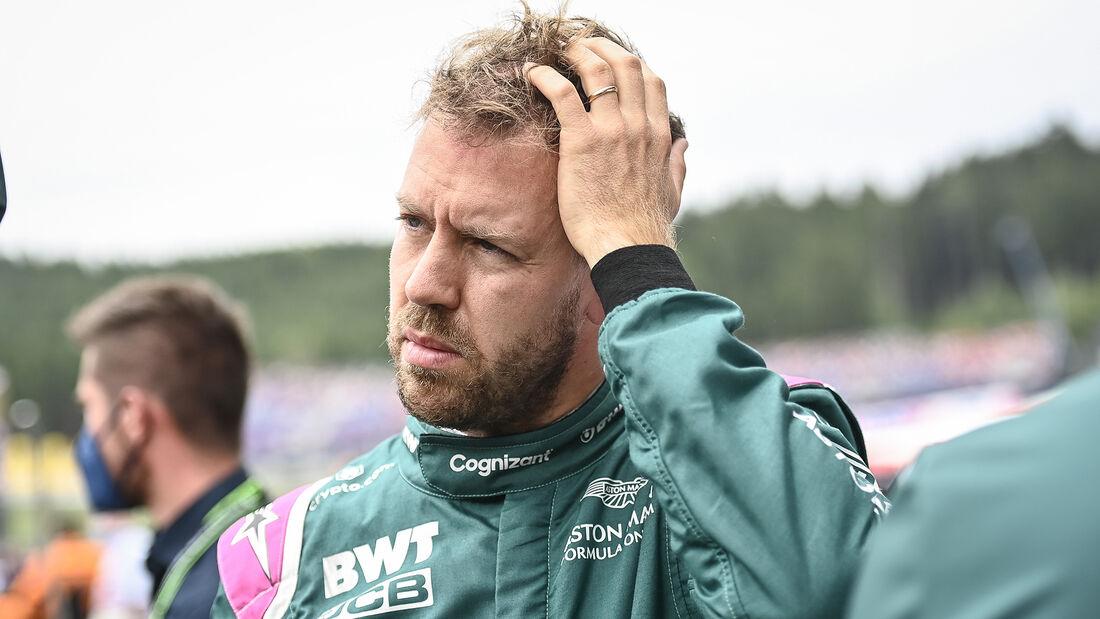 Sebastian Vettel - Aston Martin - GP Österreich 2021 - Spielberg - Rennen