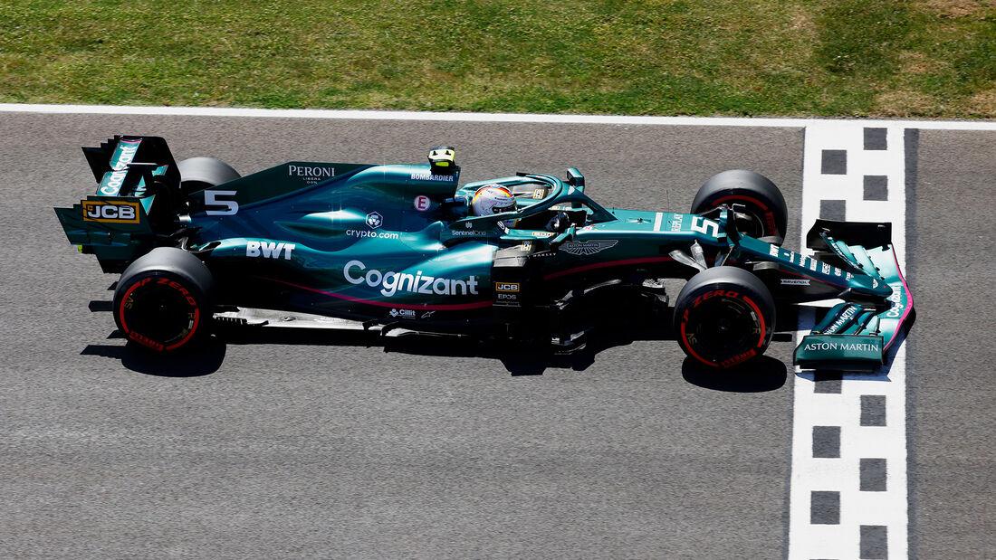 Sebastian Vettel - Aston Martin - GP Portugal - Portimao - 1. Mai 2021