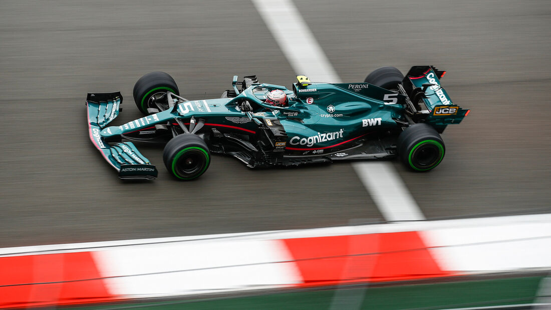 Sebastian Vettel - Aston Martin - GP Russland 2021 - Sotschi